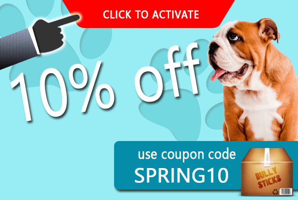 Save 10% on Bully Sticks during April 2013 - Discounts and Coupon