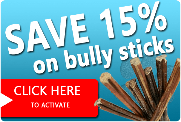 mega sale on bully sticks and dog treats may 2013 bully sticks for dogs. Black Bedroom Furniture Sets. Home Design Ideas